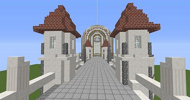 The Quartz Castle Minecraft Project