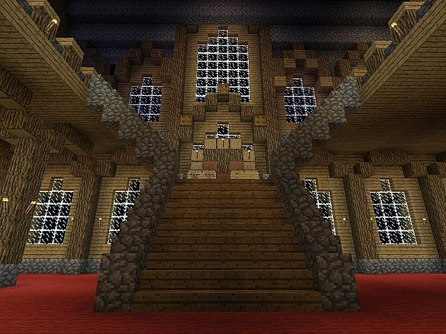 Minecraft Castle Staircase : Minecraft mansion staircase imgkid the image