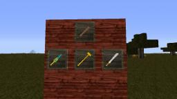 Keening and Assorted Swords Pack Minecraft Texture Pack
