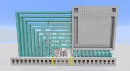 Redstone 10x10 Editable Pixel Screen Minecraft Map & Project