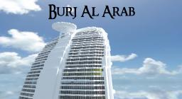 Minecraft: Burj Al Arab Hotel Minecraft Map & Project
