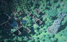 Clennshire - A Peacefull Village Minecraft Map & Project