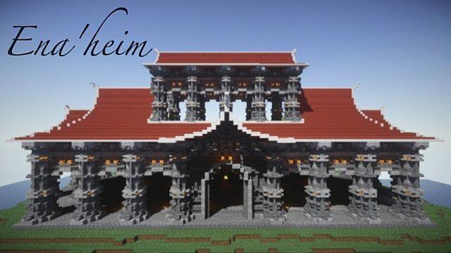 Ena Heim Courtyard Of The Gods Minecraft Project