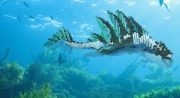 [Creatures from the Water Temple -1 - ]  Fish-Aragat + Download Schematic Minecraft