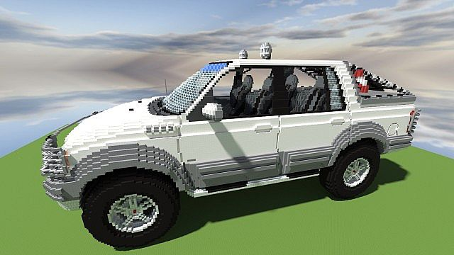 Ford F 150 Himalaya Expedition Minecraft Project