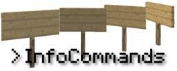 InfoCommands [Bukkit Plugin] Minecraft Mod