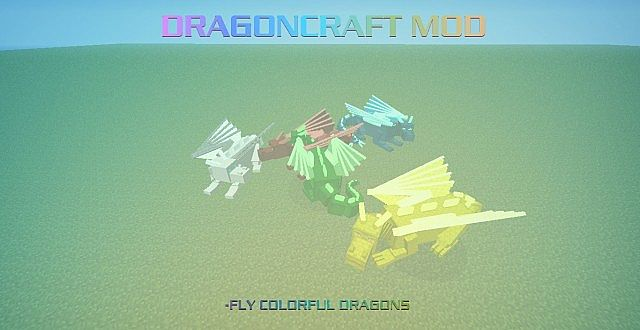 how to make ride a dragon in minecraft
