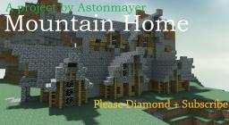 Cozy Mountain Home. Minecraft Map & Project
