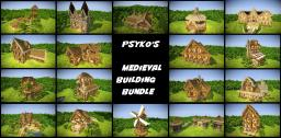 Psykoschlumpf's Medieval Building Bundle Minecraft Map & Project