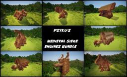 Psykoschlumpf's Medieval Siege Engines Bundle Minecraft Map & Project