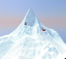 Mount Everest Minecraft Map & Project