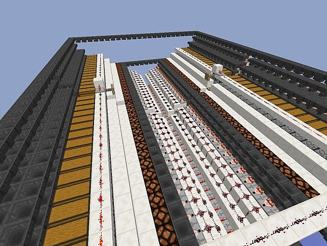 how to build a item filtering system in minecraft