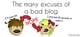 The Excuses of a Bad Blog Minecraft