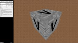 [WEB/Alpha] 3D Block Preview Minecraft Mod