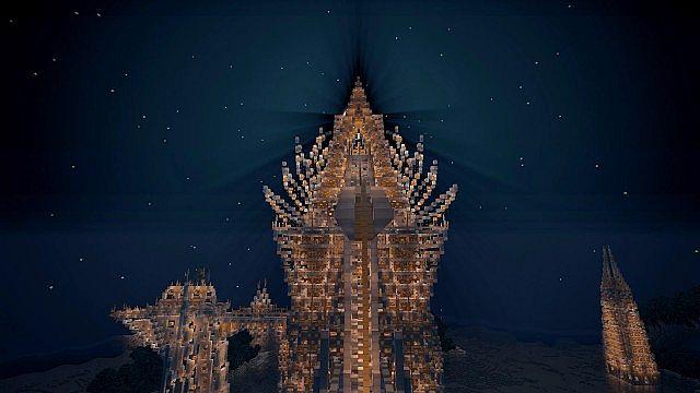 Demeter Tower by night
