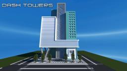 Dash Towers - Modern Skyscraper Minecraft Map & Project