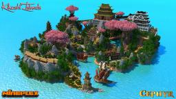 Kikoshi Islands - Survival Games Map for Mineplex Minecraft Project