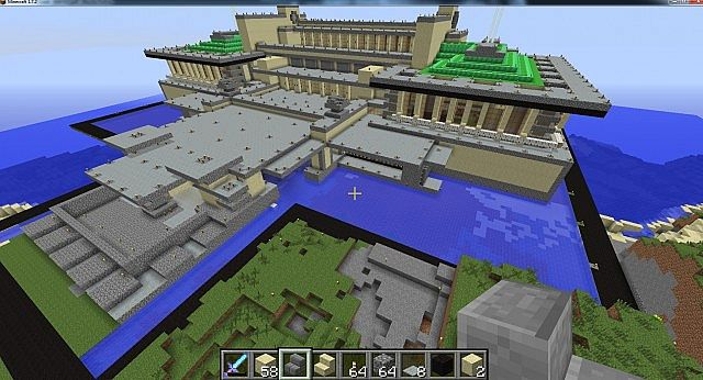 Lego Archidecture Imperial Hotel Replica Minecraft Project