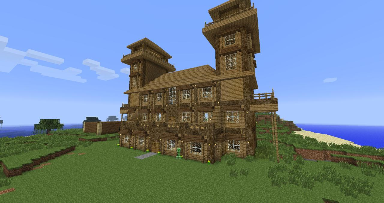 . How to make a Log Cabin in Minecraft Minecraft Blog