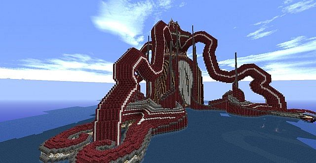 Kraken Tower Water Biome Tower Minecraft Project