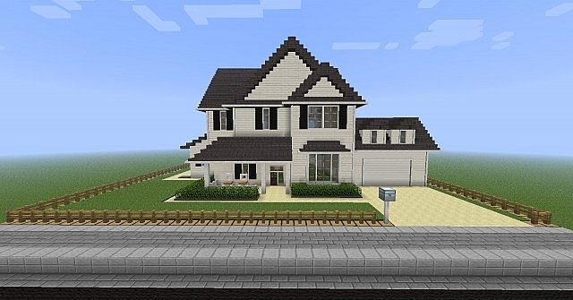 Ftb American House Minecraft Project