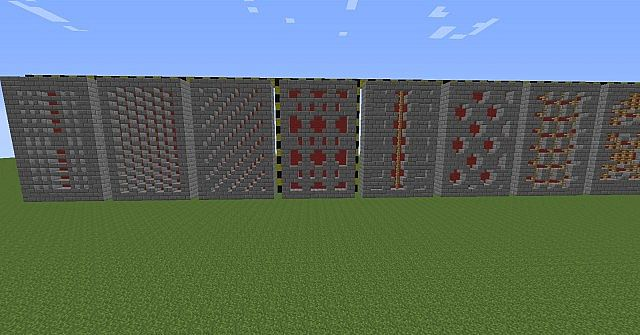 How to make a wall in minecraft
