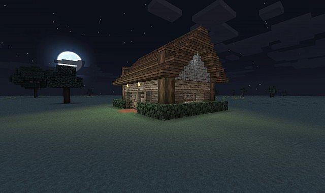 Savagecraft Small Storage House Minecraft Project