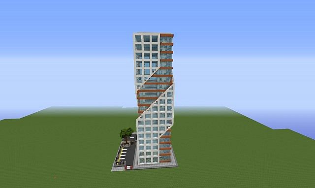 . Minecraft Modern Tower   Home Exsplore