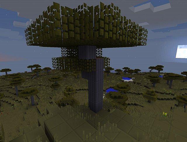 how to find dark oak wood in minecraft