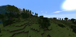Forgotten Isle. Wolrd Painter Map (2500x25000) (WITH ORES!!) Custom Trees Minecraft Map & Project