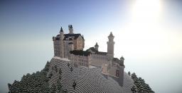 Neuschwanstein Castle(Exterior) - A Minecraft Timelapse Minecraft Map & Project