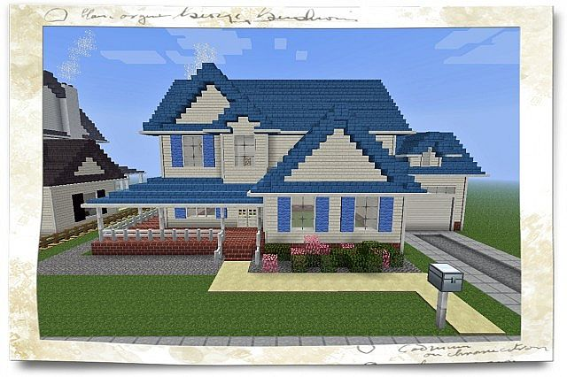 Minecraft House American