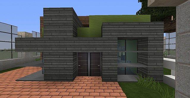 как построить модерн дома в майнкрафте 1.7.2 видео #9