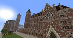 The romanesque Monastery of St. Vincent Minecraft Map & Project