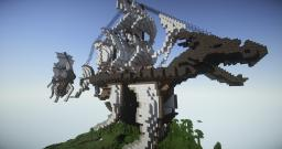 Dragon Head Airship Minecraft