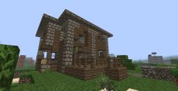 Post Apocaliptic / Ruins  House Minecraft Map & Project