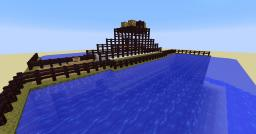 Piston Bridge Minecraft Map & Project