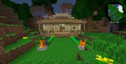 Hexxit starting house Minecraft Map & Project