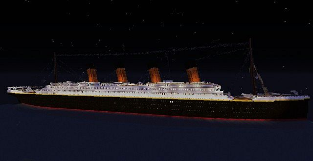 Updated Titanic with porthols and new windows & Titanic Floating Sinking and Wreck in 1 Map. UPDATED 23/11/13 ...
