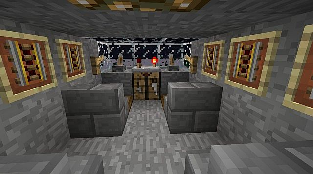 Minecraft star wars faucon millenium avec int rieur for Interieur faucon millenium
