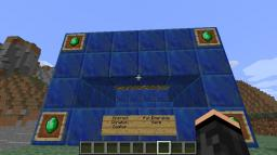 Emerald Donation Center Minecraft Map & Project