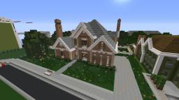 Surburan House w/ glimpse of how I do interiors Minecraft Map & Project