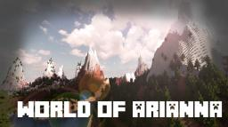 World of Arianna - 10 000 x 10 000 block Custom World Minecraft Map & Project