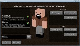 "If Minecraft Had a ""Friends List"" Minecraft Blog"