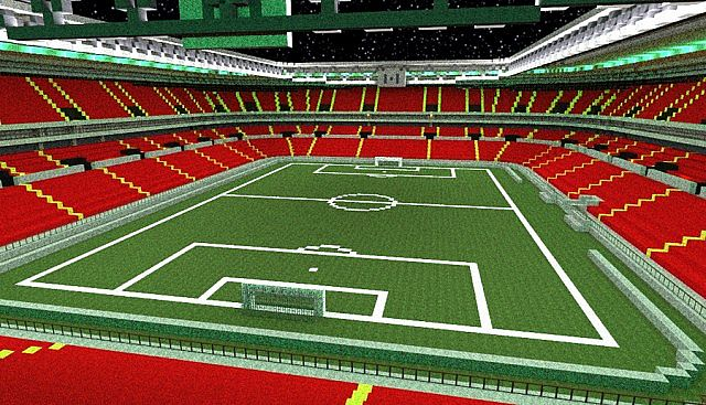 How To Build A Stadium In Minecraft Pe