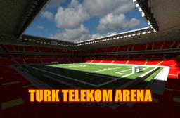 [ Minecraft Mega Building ] Turk Telekom Arena ( Galatasaray's stadium ) Minecraft Map & Project