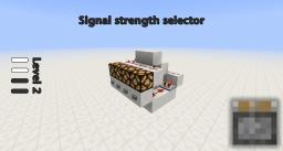 Compact Light Selector Minecraft Map & Project