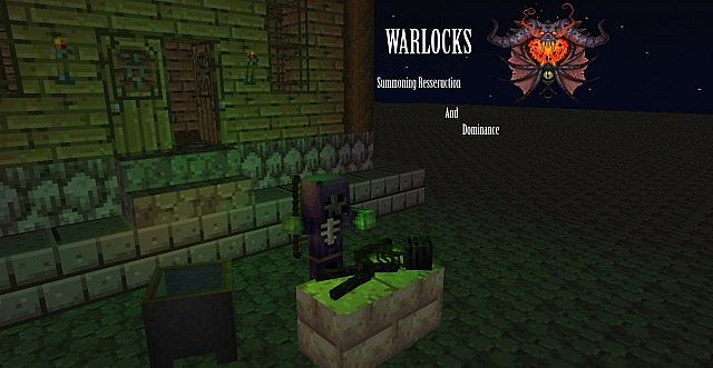 Minecraft Wallpaper Warlock Resurrection World Of