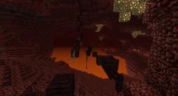 Mapaday day 3: Nether escape! (PARKOUR) (MEDIUM) Minecraft Project