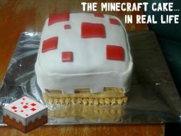 Minecraft Cake (REAL LIFE)